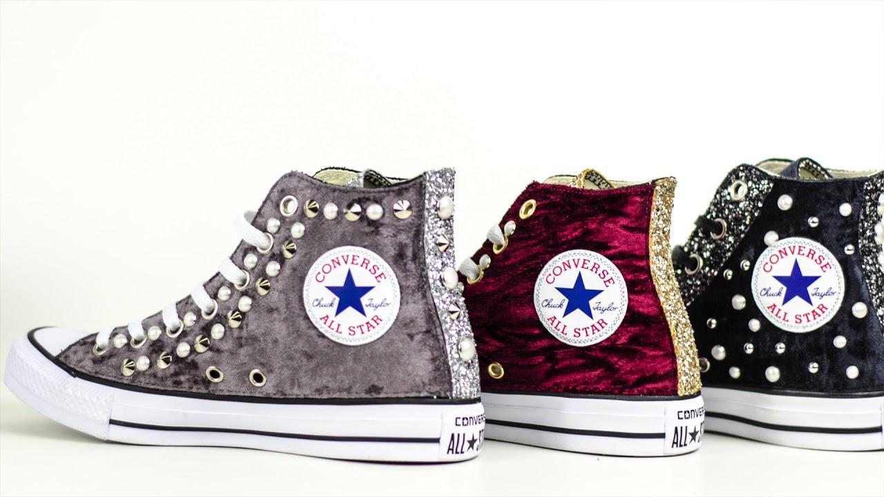 scarpe converse donna personalizzate