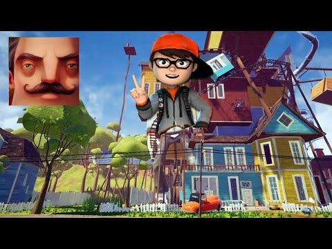 Hello Neighbor - My New Neighbor Big Scary Teacher BOY History Gameplay Walkthrough