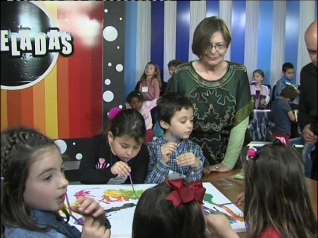 Los niños protagonistas en las Jornadas Escolares de Pinceladas
