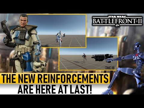 THE NEW REINFORCEMENTS ARE HERE! Star Wars Battlefront 2 thumbnail