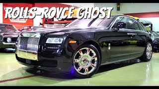 Rolls-Royce Ghost Test Drive and Review-- Video Test Drive with Chris Moran