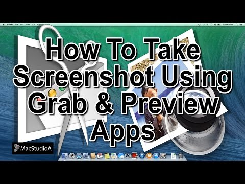 How To Take Screenshot Using Grab & Preview Apps
