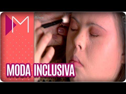 Moda inclusiva: desfile de pessoas portadoras de síndrome de down - Mulheres (21/03/18)
