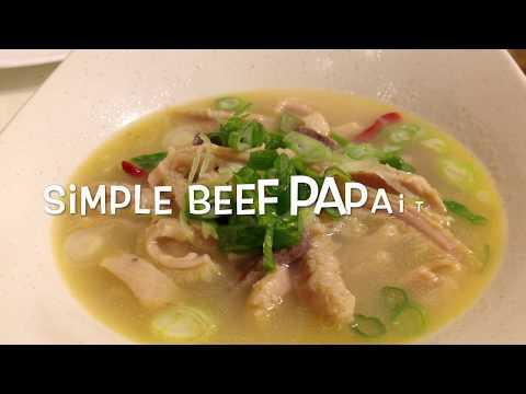 Simple Beef PAPAITAN recipe!