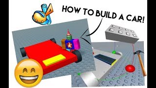 How to Make a Basic Car in Roblox Studio (with music)
