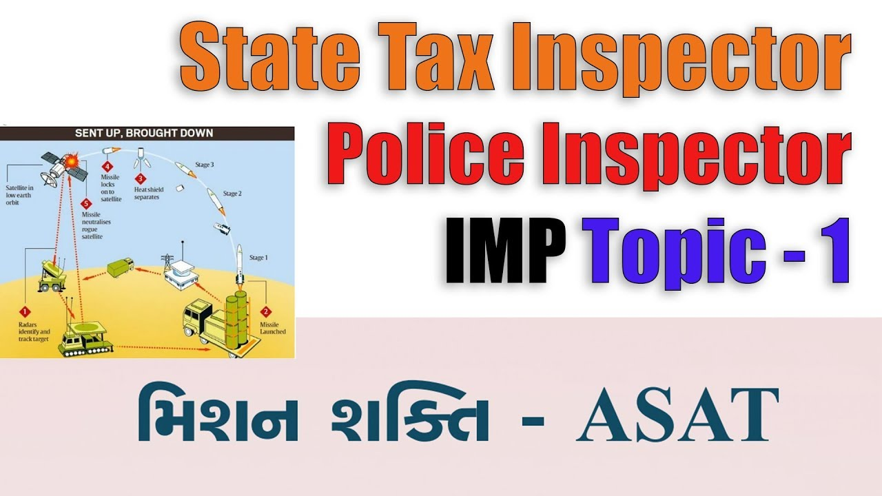 State tax inspector | Police inspector 2019 IMP topic 1 | Gpsc Tutorial