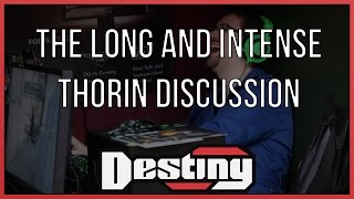 The long and intense Thorin discussion