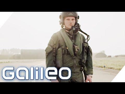 So sichern die Eurofighter den deutschen Luftraum | Galileo | ProSieben