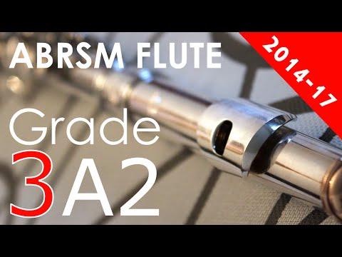 ABRSM Flute exam pieces grade 3 A2 Tre giorni son che Nin attrib. Pergolesi