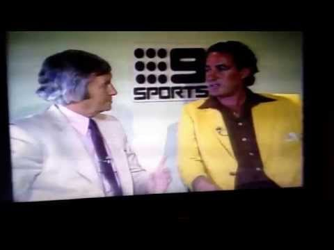 79-80 West Indies vs australia . Interview Cozier and Benaud post series (part 2)