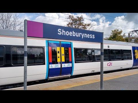 Full Journey on c2c (Class 387) from Fenchurch Street to Shoeburyness (via Basildon) [semi-fast]