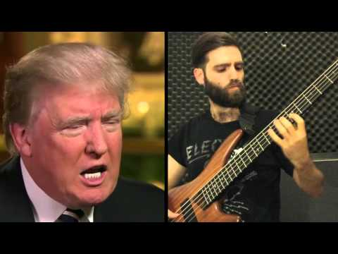 "Donald Trump Says ""China"" - Bass Cover by Iggy Jackson Cohen"