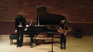Jessica Voigt-Page, Sonata for Alto Saxophone and Piano