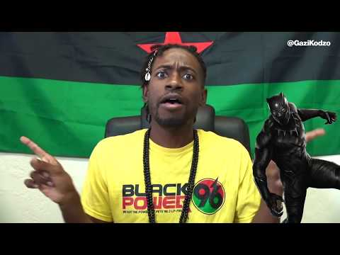 BLACK PANTHER PROMOTES WHITE POWER!