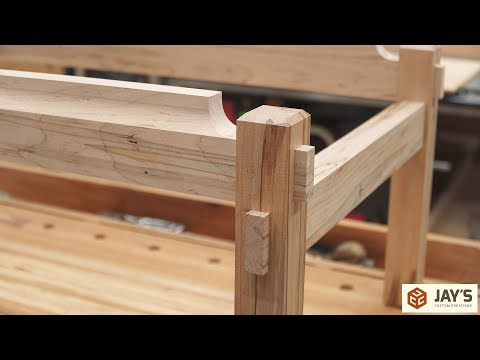 Krenov Inspired Coffee Table - Part 2 - The Base