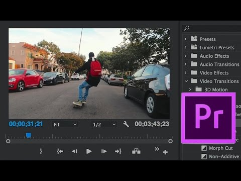 FAST & EASY PREMIERE PRO TUTORIAL (5 Video Editing Tips For Beginners)