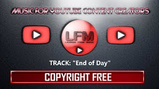 """Royalty Free Music - """"End of Day"""" (Relaxing / Chillout)"""