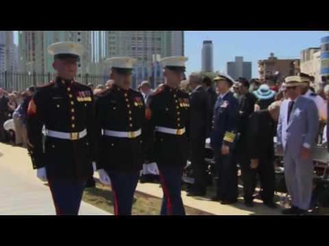 2017 John Kerry / U.S. Marines Raising the American Flag - U.S. Embassy - Havana, Cuba