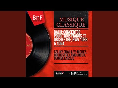 Concerto for Three Pianos in D Minor, BWV 1063: III. Allegro mp3