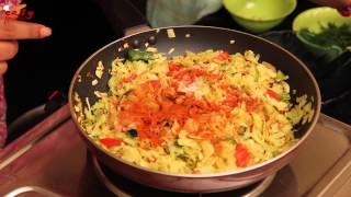 Cabbage Fry -  Easy Recipes