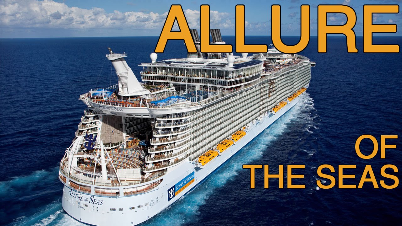 Allure of the Seas Tour - Royal Caribbean - YouTube