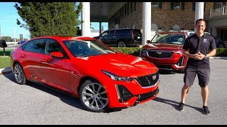 Is the 2020 Cadillac CT5 a BETTER luxury sedan than a BMW 3 series?