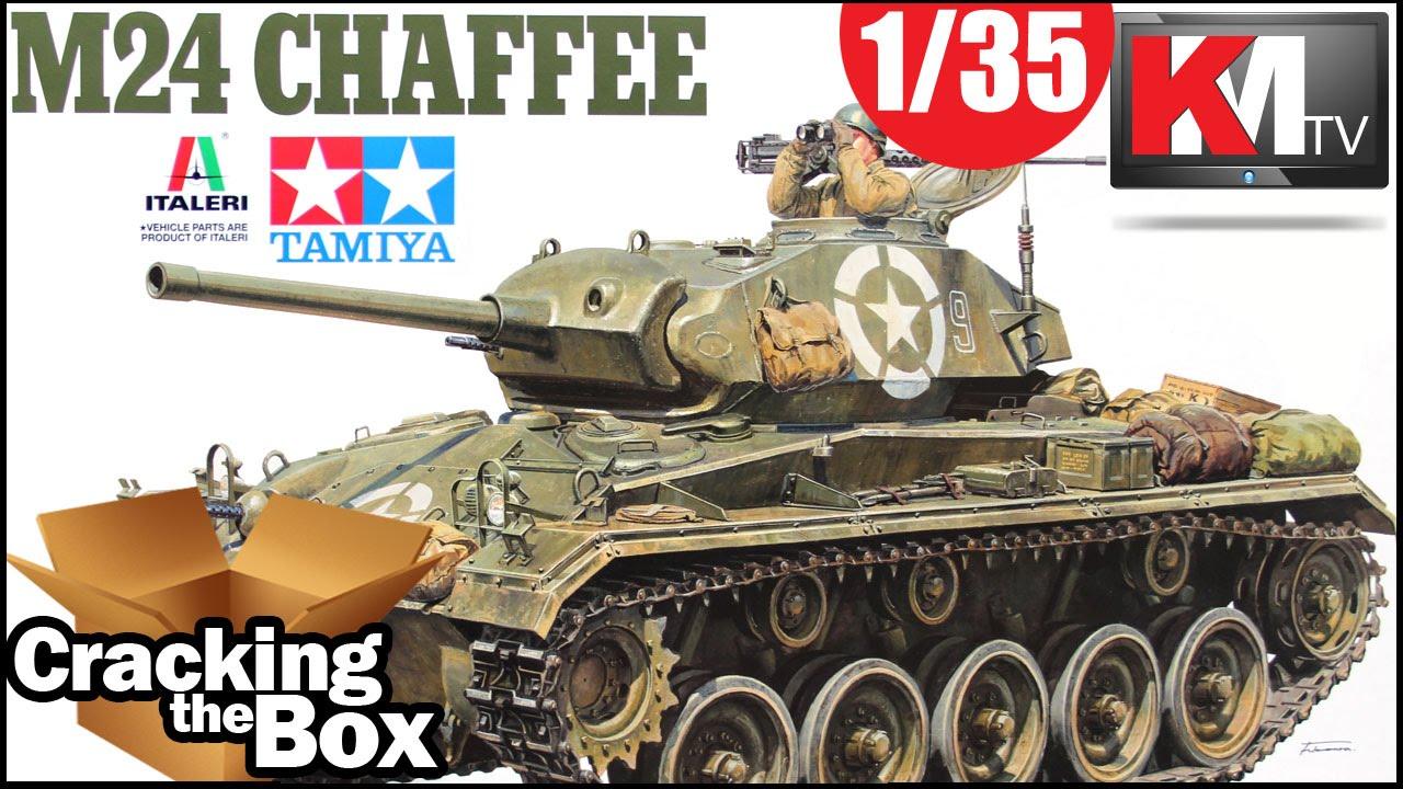 Unboxing Tamiya/Italeri M24 Chaffee (1/35) - YouTube M24 Tank