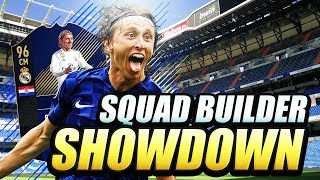 FIFA 18 SQUAD BUILDER SHOWDOWN vs AJ3 W/ TOTY MODRIC! SBSD ULTIMATE TEAM