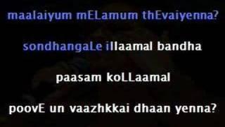 mandram vandha - Karaoke