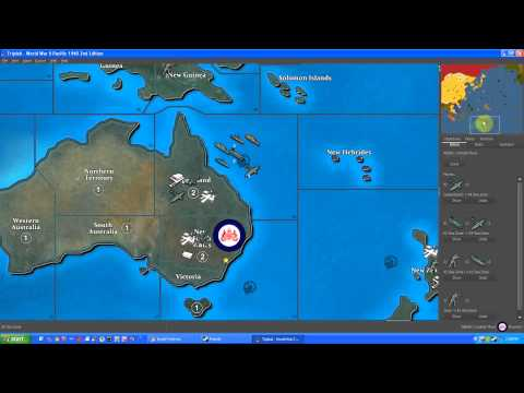 Let's Play TripleA - Episode 14 - ANZAC World War II Pacific 2nd Edition - Calm Before The Storm