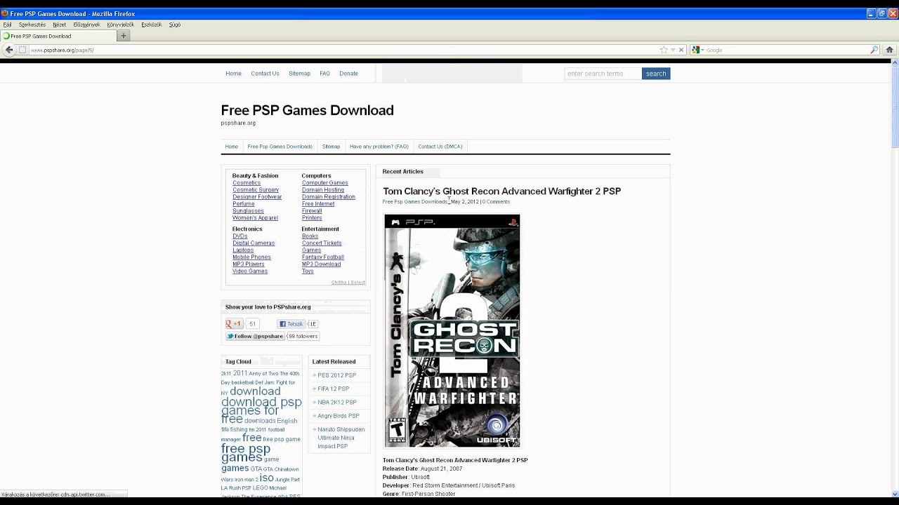 Pspshare Org Free Psp Games Downloads Page