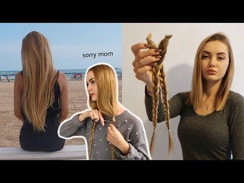 ICH SCHNEIDE MIR MEINE HAARE AB | über 40 cm | Haare spenden | SelinaViia