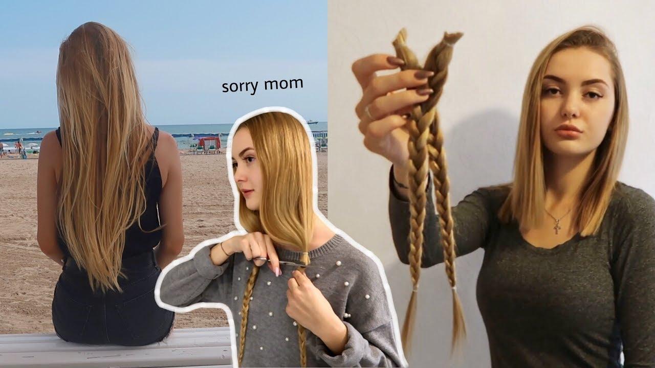 Abrasieren frauen lange haare Lange Haare