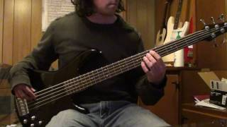 Motley Crue - Knock em Dead Kid- Bass Cover