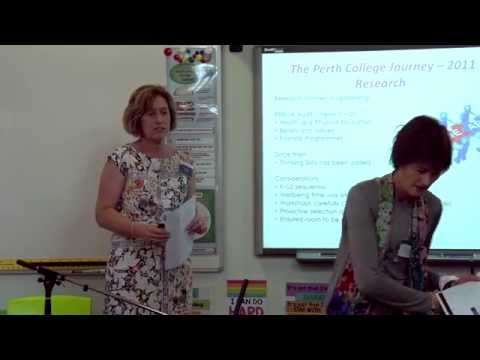 The Perth College InsideOut Journey (Seminar 10 Oct 2015)