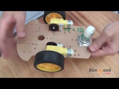 Smart Robot Car Chassis Kit Speed Encoder For Arduino - Banggood.com