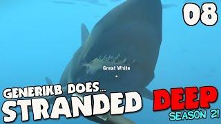 stranded deep gameplay s02e08 great white shark attack
