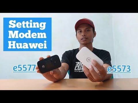 Cara Setting Modem Huawei E5577 Dan E5573