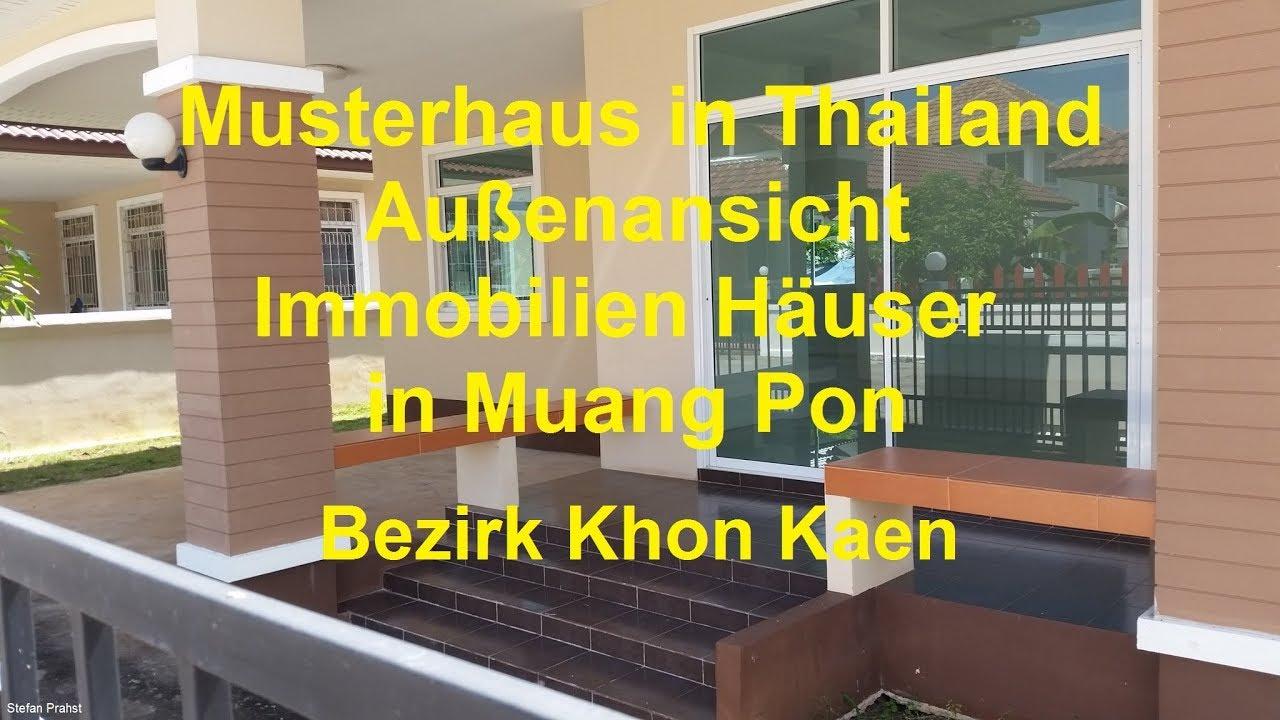 Haus In Thailand Außenansichten Musterhaus Immobilien Häuser In