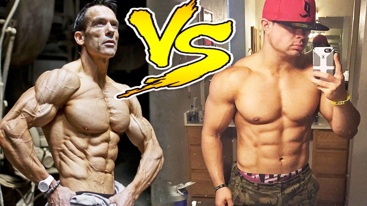 shredded vs lean muscle youtube