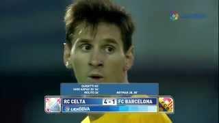 Celta de Vigo 4 - 1 FC Barcelona - Liga 2015-2016