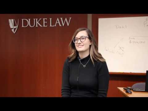 Kat Brown '19 Talks About The Duke Law International LLM Program.