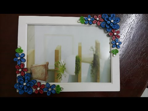 Decorate a Photo Frame - YouTube