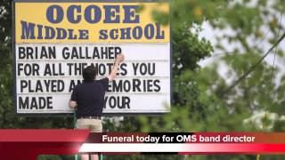 Brian Gallaher, Ocoee Middle School band director, killed in crash