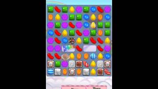 Candy Crush Saga Level 438 iPhone No Boosts