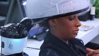 Vidéo: CASQUE A VAPEUR 2 EN 1 - HAIR STEAMER