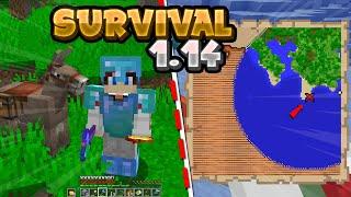 MINECRAFT SURVIVAL #4- W POSZUKIWANIU SKARBU!!