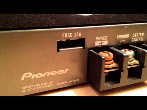 How to Estimate a Car Amplifier's True Power Output (watts RMS)