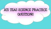 TEAS 6 Exam - Science (TIPS and GUIDE to get a HIGH Score
