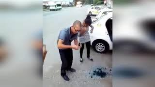 В Хабаровске таксист заставил молодых девушек умыться зеленкой